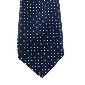 Club Room men's silk tie blues